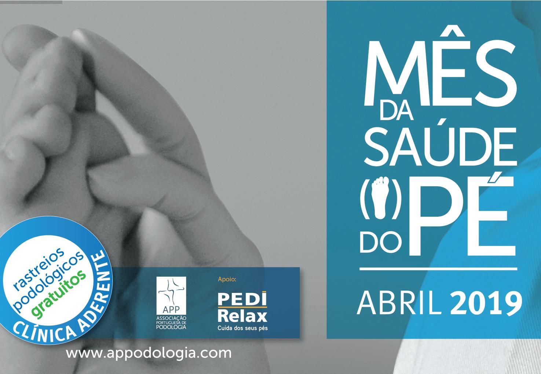 Abril Mês do Pé Lisboa Podologia